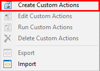 Administrator Quick and Custom Actions6