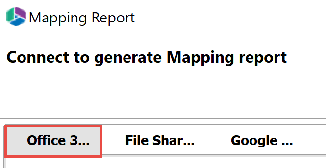 Mapping Report Office 1