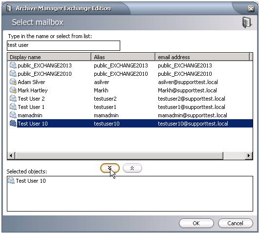 Exporting an entire mailbox to a PST file from Metalogix