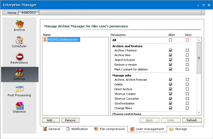 Metalogix Archive Manager for Files 8 1 1 - ArchiveWeb Manual