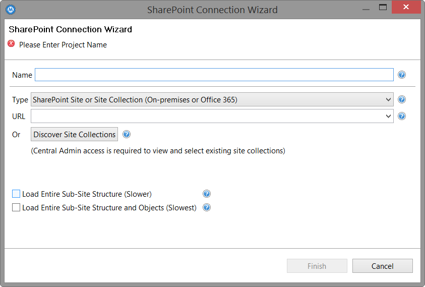 Connect to SharePoint 2