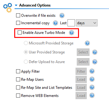 Azure Turbo Mode 1